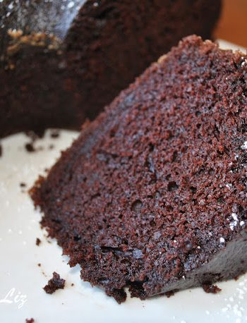 Egg-less Dairy-Free Chocolate Cake by 2sistersrecipes.com