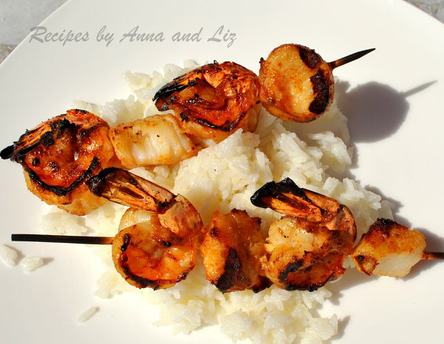 Best Grilled Shrimp And Scallop Kabobs 2 Sisters Recipes