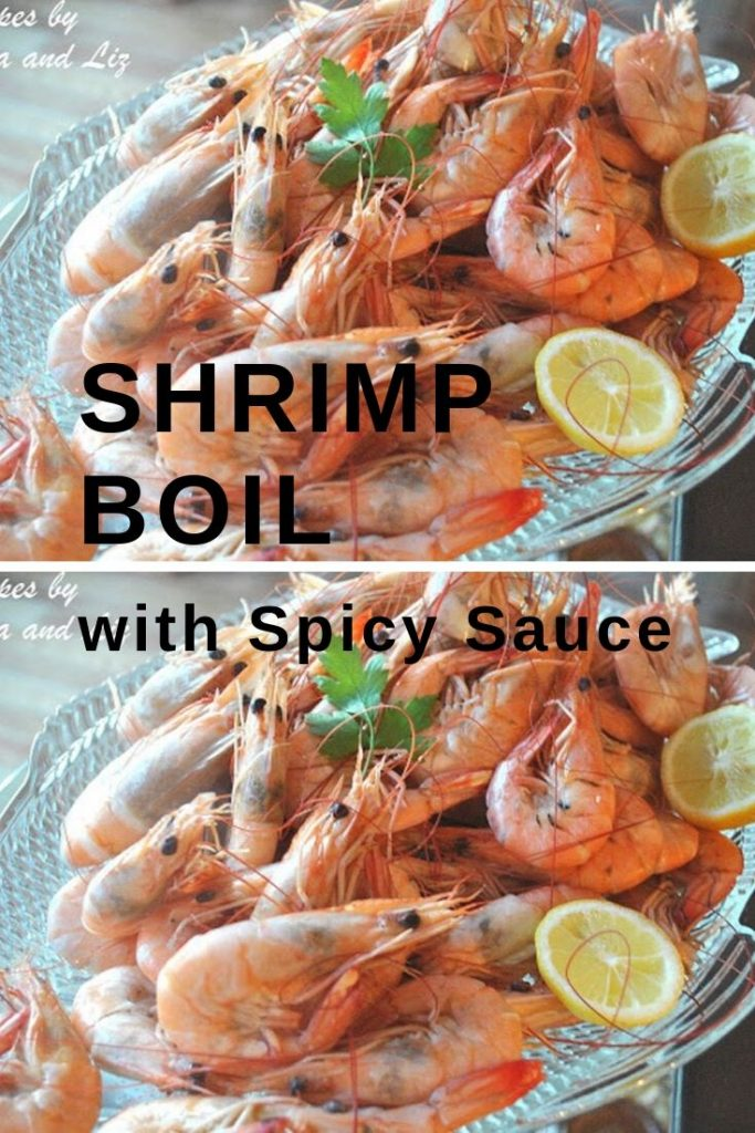 Shrimp Boil with Spicy Sauce by 2sistersrecipes.com