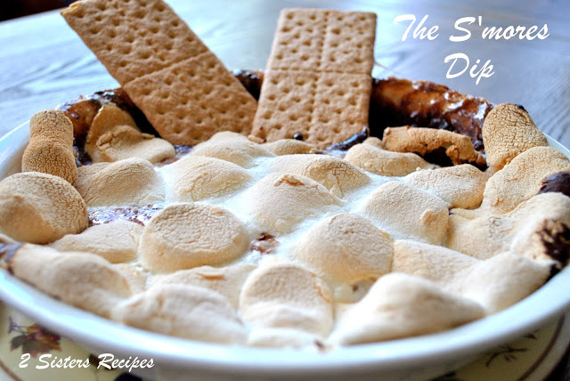 The S'mores Dip by 2sistersrecipes.com