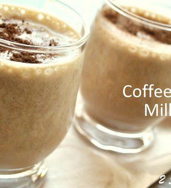 Coffee Banana Milkshake - Tiramisu! http://2sistersrecipes.com