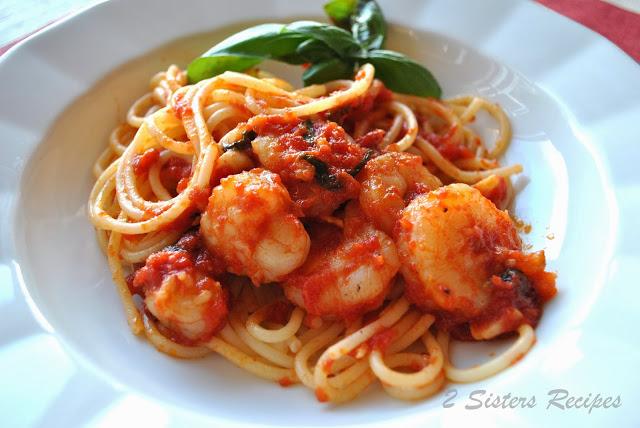 Spaghetti with Shrimp Marinara