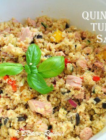 Quinoa Tuna Salad by 2sistersrecipes.com