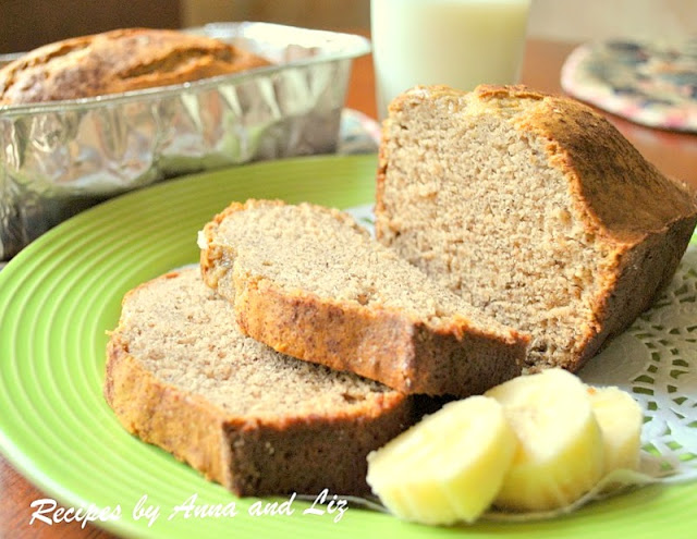 The Ultimate Banana Bread, by 2sistersrecipes.com