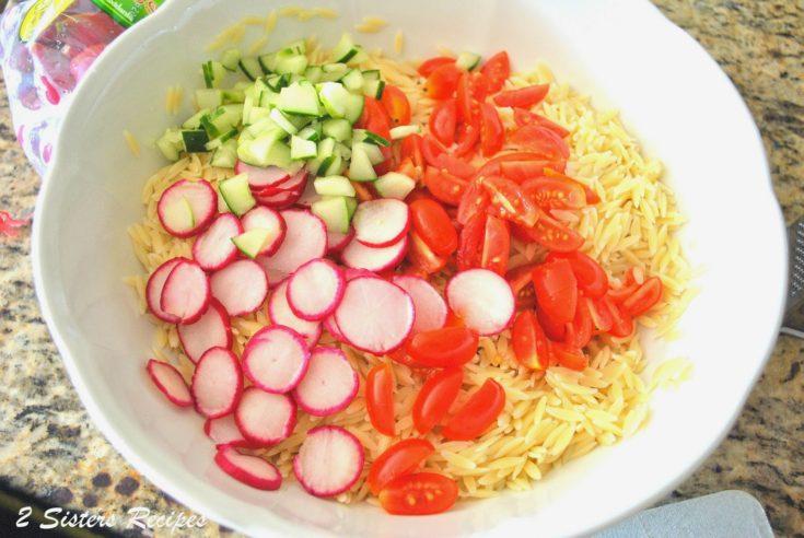 Orzo Salad with Champagne Vinaigrette