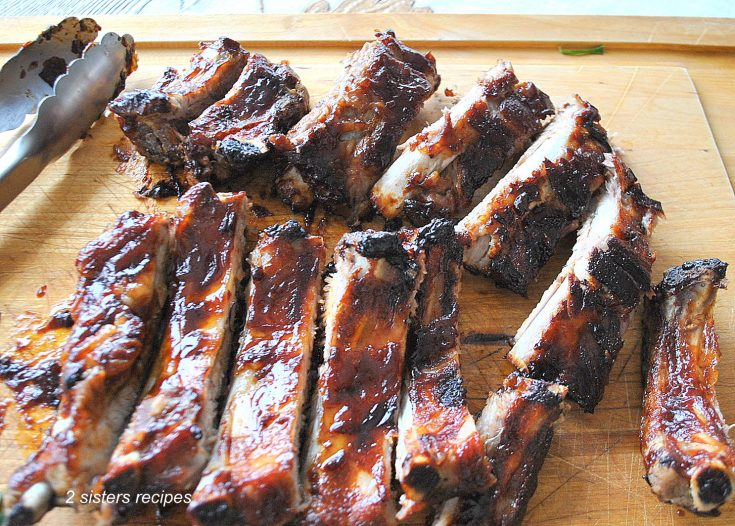 Fast & Easy Oven Roasted Baby Back Ribs by 2sistersrecipes.com