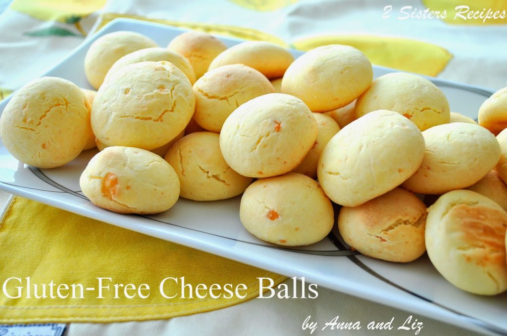 Gluten-Free Cheese Balls by 2sistersrecipes.com