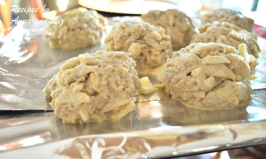 photo of ready to bake on baking sheet. by 2sistersrecipes.com
