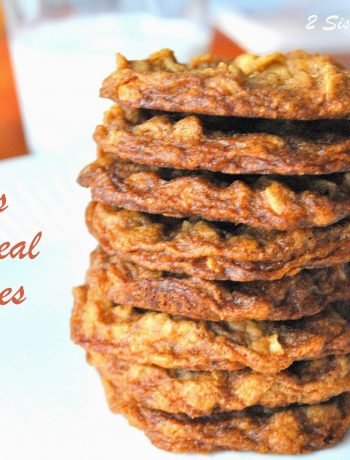 Erik's Oatmeal Cookies by 2sistersrecipes.com