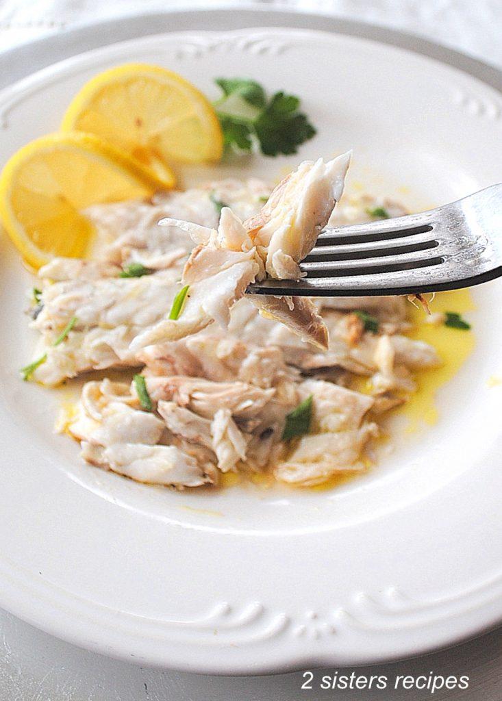 Bake or Roast Branzino with Lemon Garlic & Wine by 2sistersrecipes.com