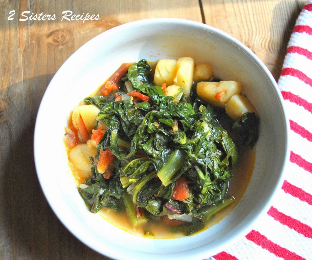 Dad's Favorite Vegetarian Italian Stew by 2sistersrecipes.com