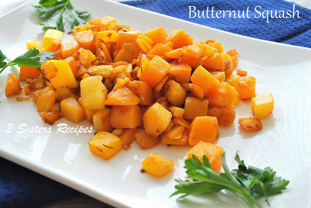 Caramelized Butternut Squash by 2sistersrecipes.com