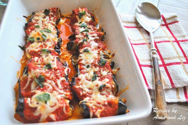 Eggplant Rollatini - Lightened!