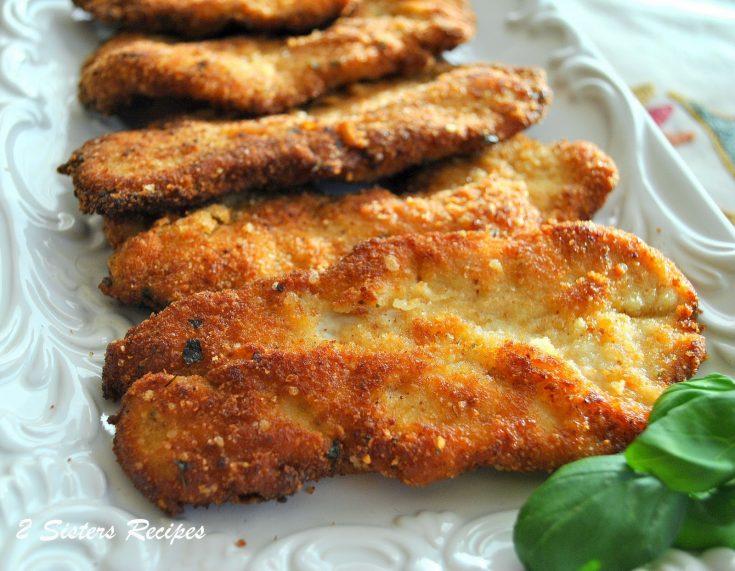 Parmesan Crusted Turkey Cutlets