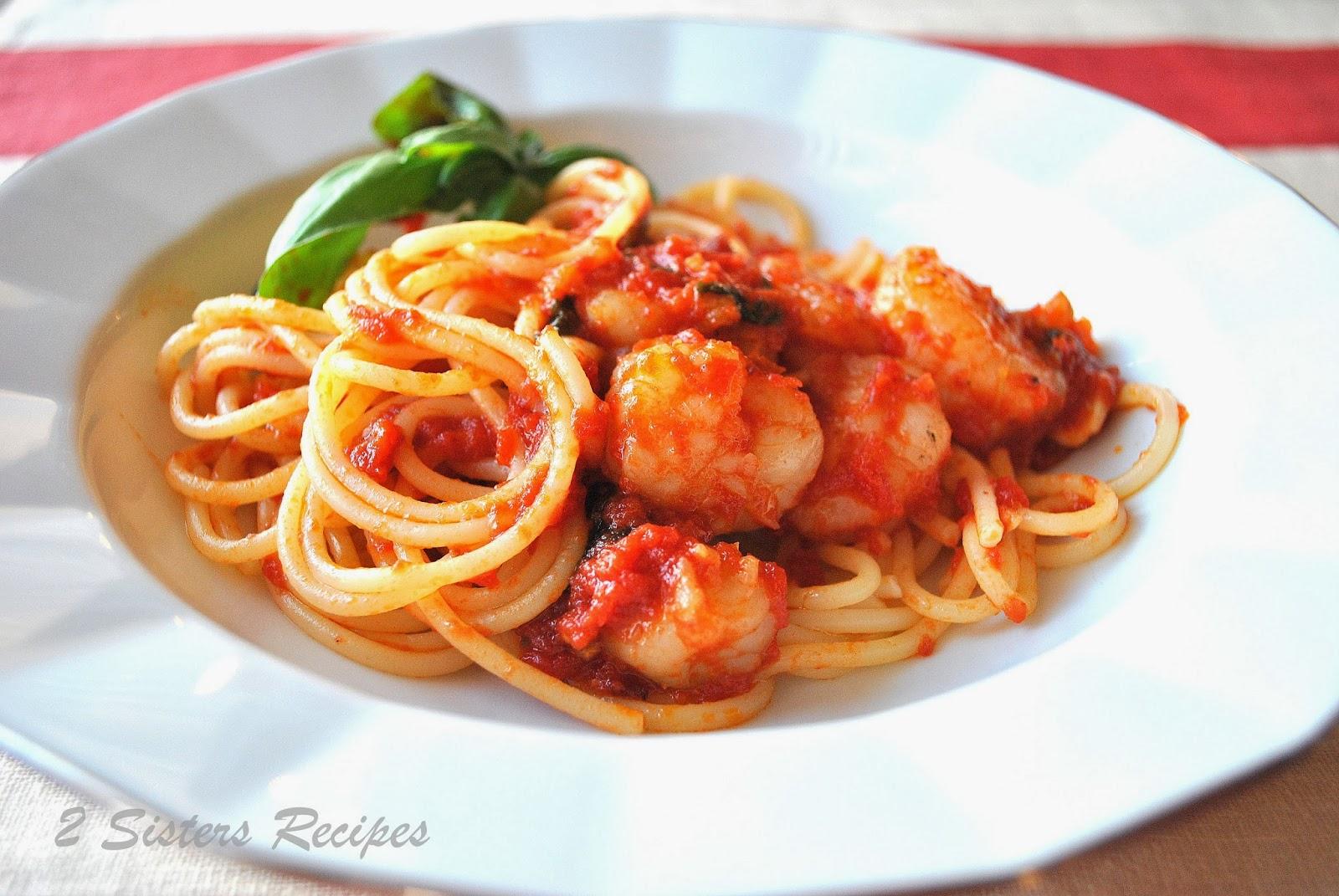 Ideas For Valentine S Day Spaghetti With Shrimp Marinara