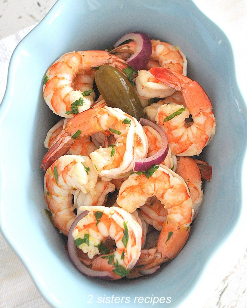 Shrimp Cocktail with Jalapeno Peppers