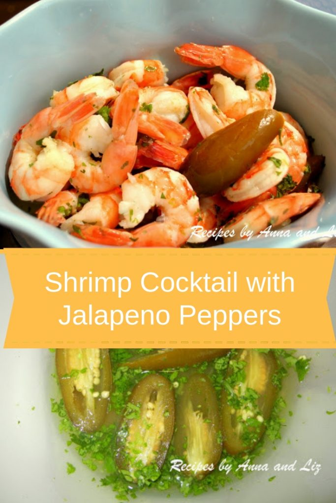 Shrimp Cocktail with Jalapeno Peppers by 2sistersrecipes.com