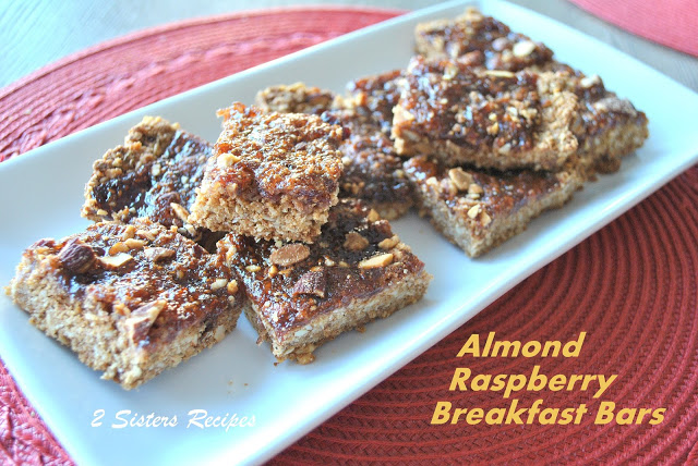 Almond Raspberry Breakfast Bars - 2 Sisters Recipes by ...