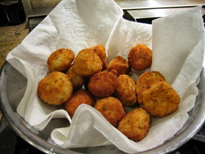 Italian Rice Balls with Eggs and Cheese by 2sistersrecipes.com
