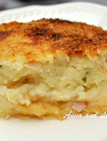 Moms Best Mashed Potato Pie by 2sistersrecipes.com
