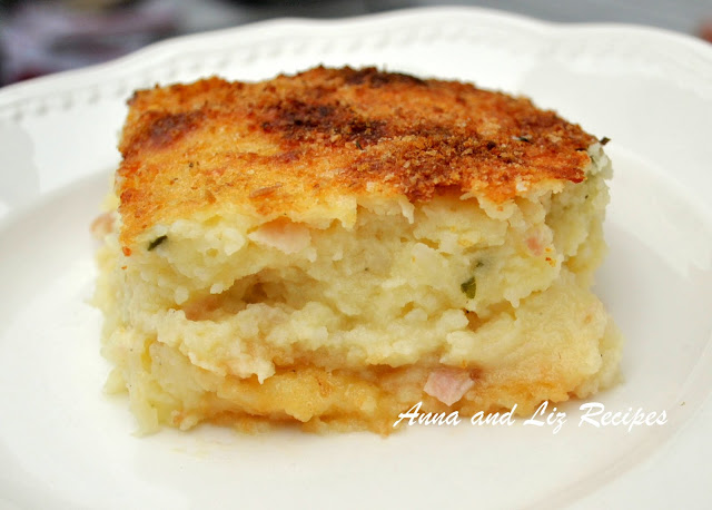 Moms Best Potato Pie by 2sistersrecipes.com