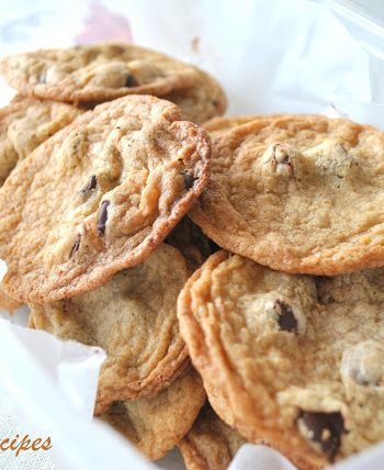 Ultimate Chocolate Chip Cookies, by 2sistersrecipes.com