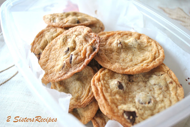 The Ultimate Bittersweet Chocolate Chip Cookies, by 2sistersrecipes.com