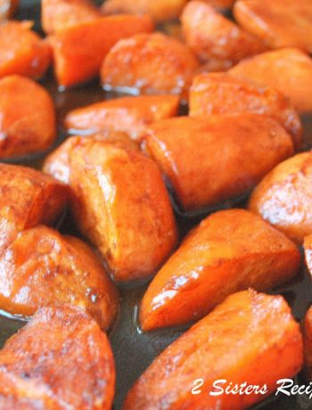 Honey Roasted Sweet Potatoes with Cinnamon, by 2sistersrecipes.com