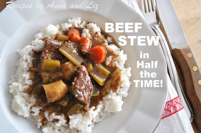 Beef Stew in Half the Time!
