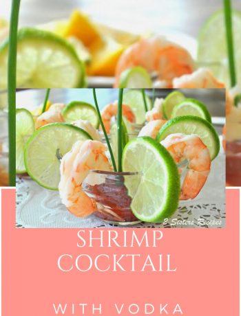 shrimp Cocktail with Vodka Sauce by 2sistersrecipes.com