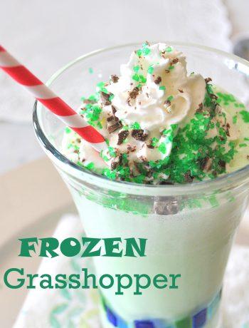 Frozen Grasshopper by 2sistersrecipes.com