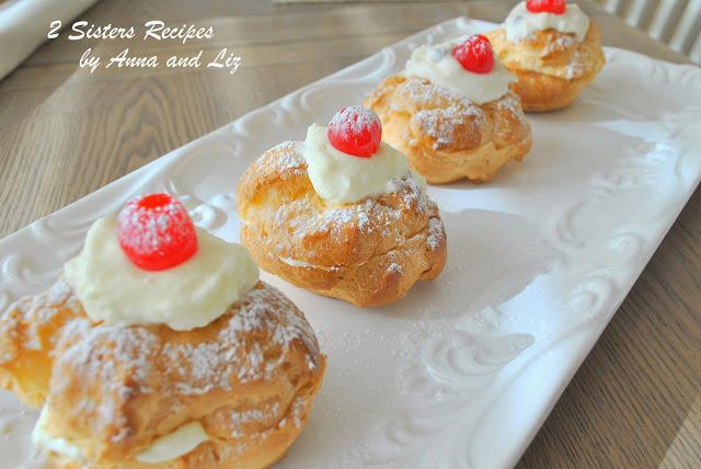 St. Joseph's Cream Puffs by 2sistersrecipes.com