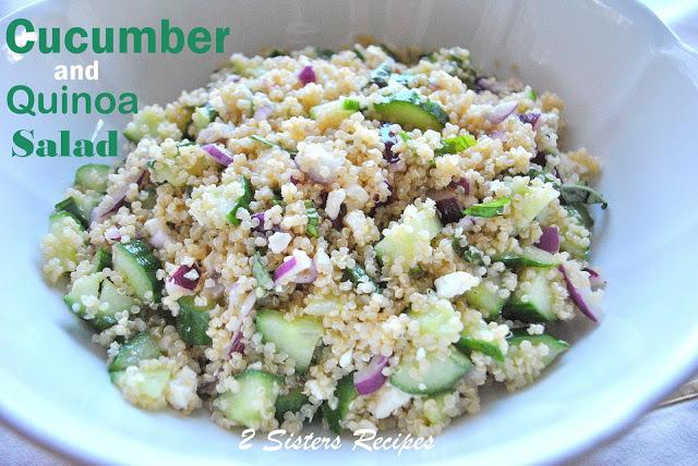Cucumber and Quinoa Salad