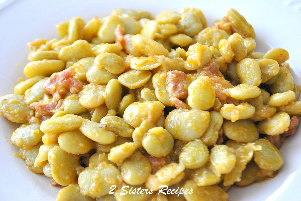 Best Butter Beans, by 2sistersrecipes.com