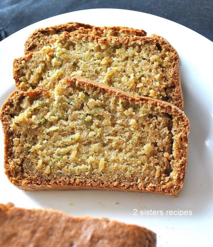 Best Zucchini Bread by 2sistersrecipes.com