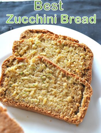 Best Zucchini Bread, by 2sistersrecipes.com