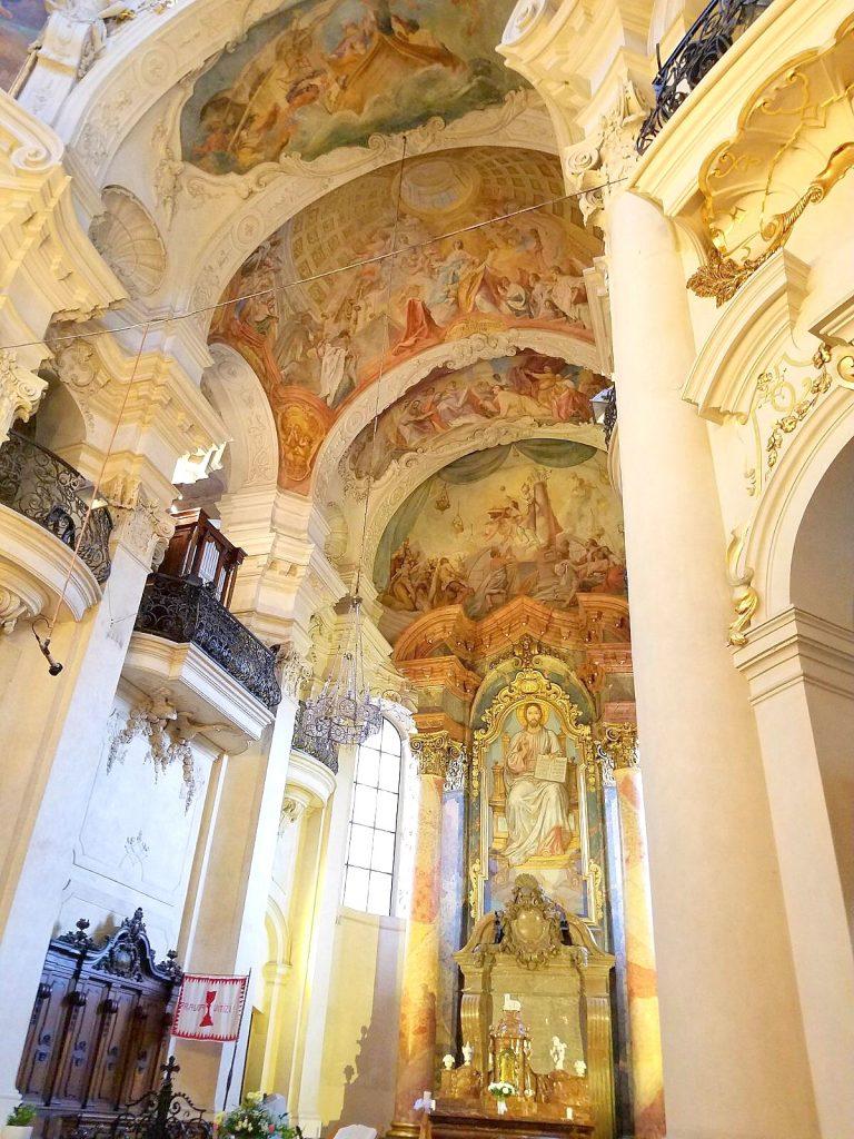 St. Nicholas Church in Prague, by 2sistersrecipes.com
