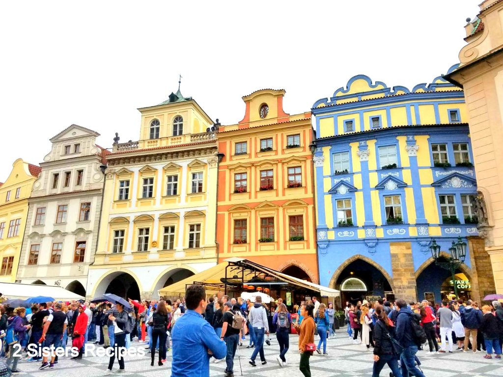 Old Town in Prague, by 2sistersrecipes.com