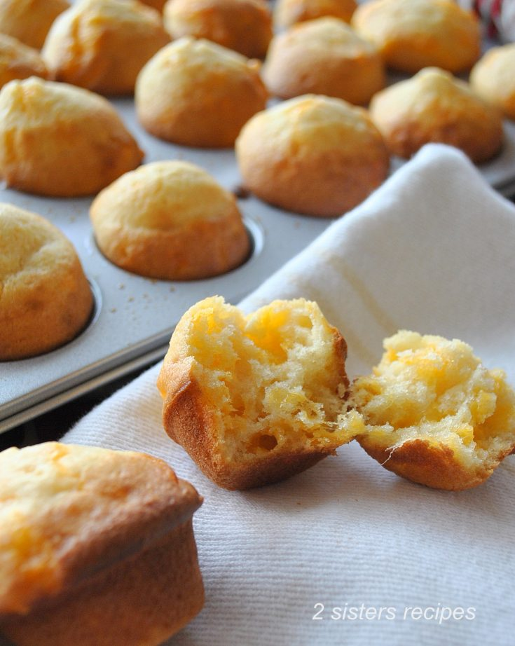 Cheesy Mini Biscuits - Jim 'n Nick's Copycat