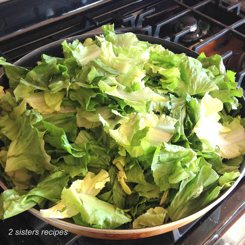 Mom's Best Sauteed Escarole by 2sistersrecipes.com