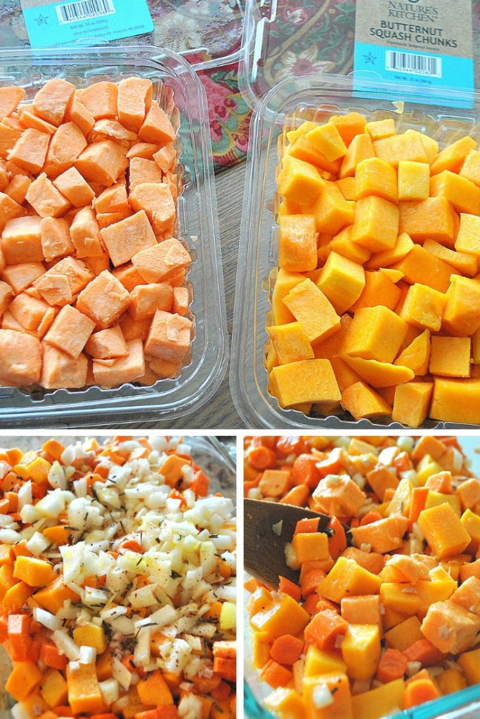 photos of the butternut chopped ingredients by 2sistersrecipes.com