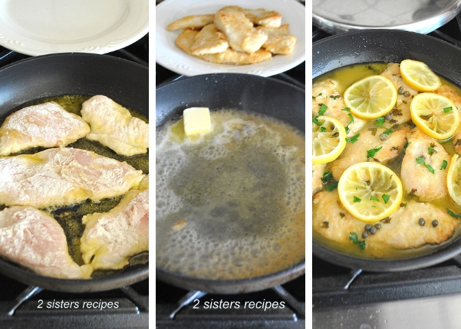 Mom's Best Chicken Piccata by 2sistersrecipes.com