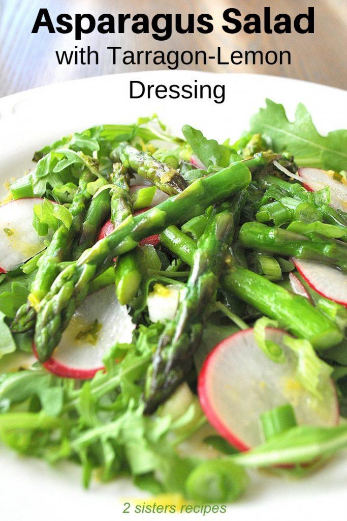 Asparagus Salad by 2sistersrecipes.com