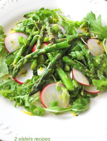 Asparagus Salad by 2sistersrecipes.com