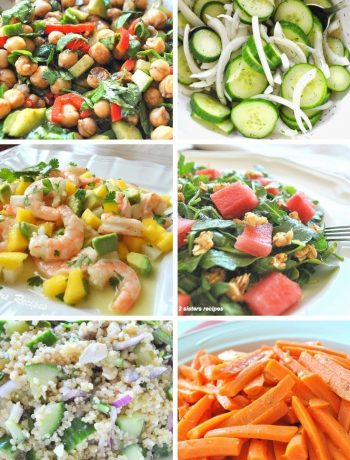 13 Fast & Easy Salads by 2sistersrecipes.com