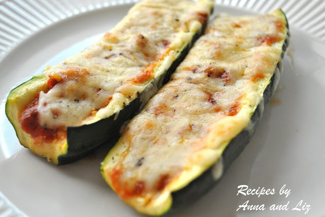 Zucchini Stuffed with Bolognese and Cheese by 2sistersrecipes.com