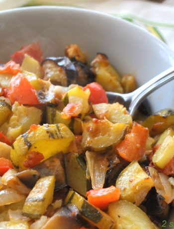 Easy Baked Ratatouille by 2sistersrecipes.com