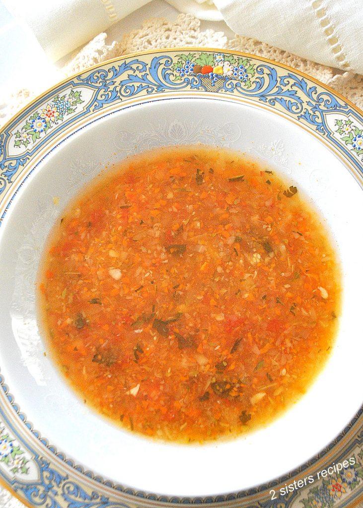 Italian Venetian Soup by 2sistersrecipes.com