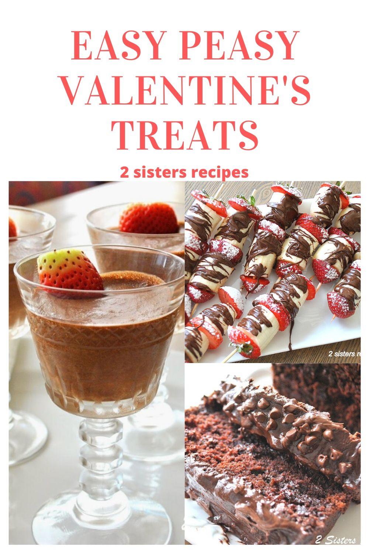 Easy Peasy Valentine's Treats by 2sistersrecipes.com
