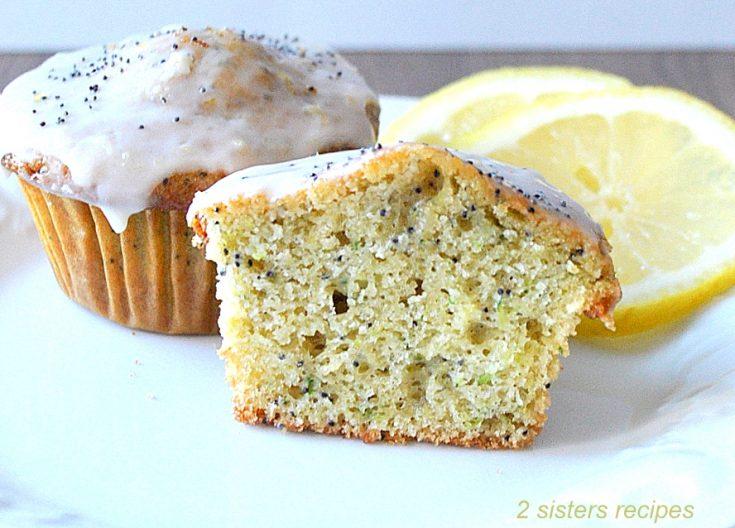 Lemon Zucchini Poppy Seed Muffins